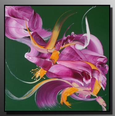 Belfodil martine peintures abstraites peinture sur toile for Cotation akoun